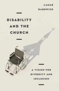 Book Review Cover of Disability and the Church